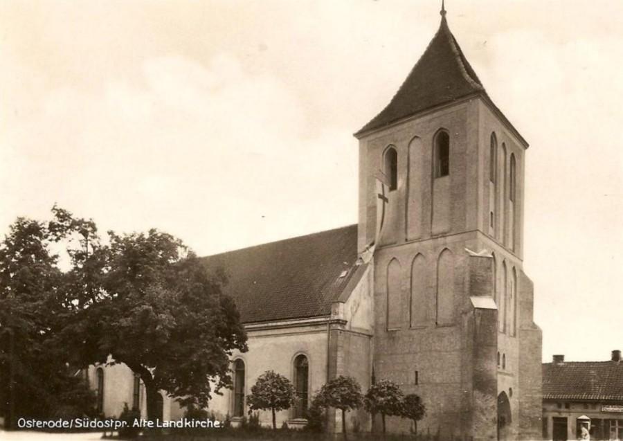 kościół ewangelicki w Ostródzie