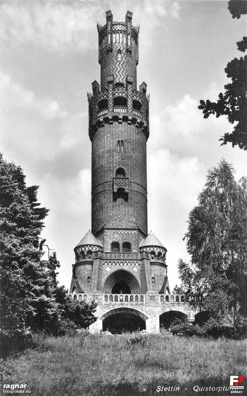 Wieza Quistorpa początek XX w - Szczecin