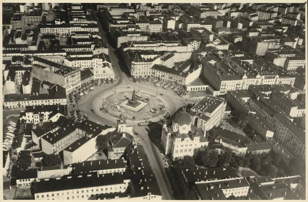 Plac Wolności w roku 1939