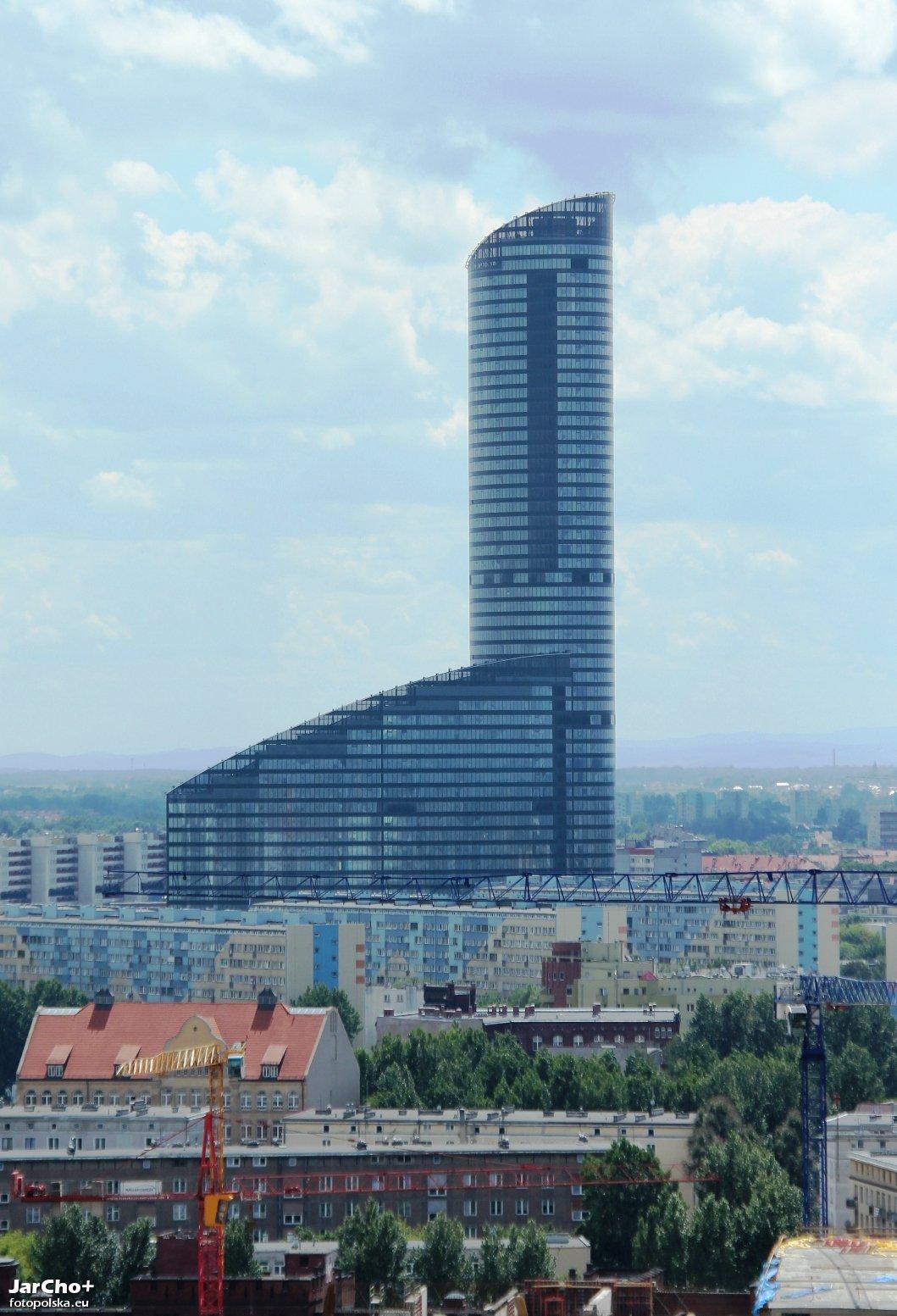 Sky Tower Wroclaw Sky Tower Wrocław Zdjęcia