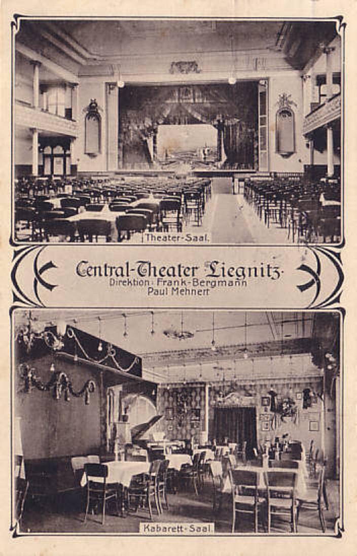 Teatr Centrum Central Theater Concerthaus Legnica 1907 Rok