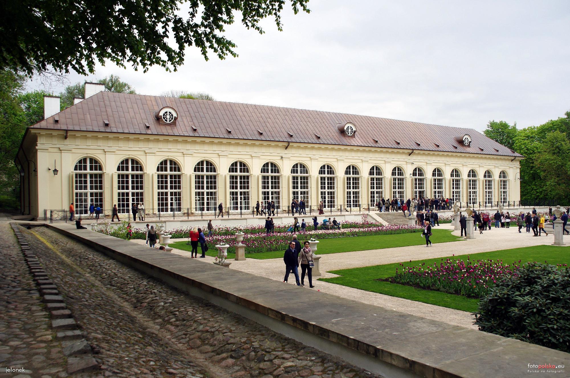 Stara Pomarańczarnia Oranżeria Warszawa Zdjęcia