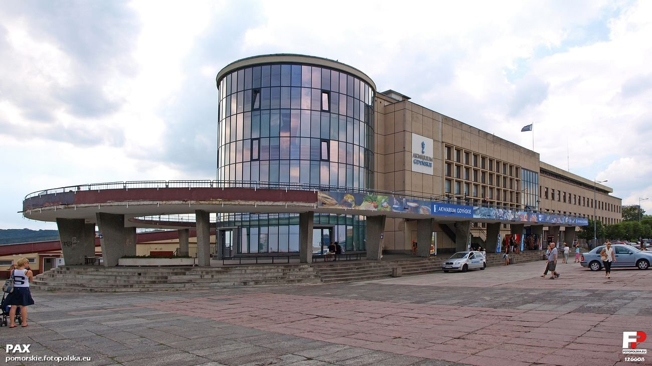 Akwarium Gdyńskie Muzeum Oceanograficzne I Akwarium Morskie 1971