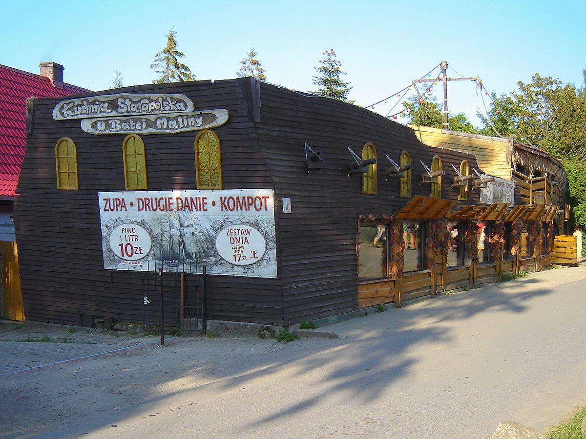 Restauracja U Babci Maliny Sarbinowo Zdjecia