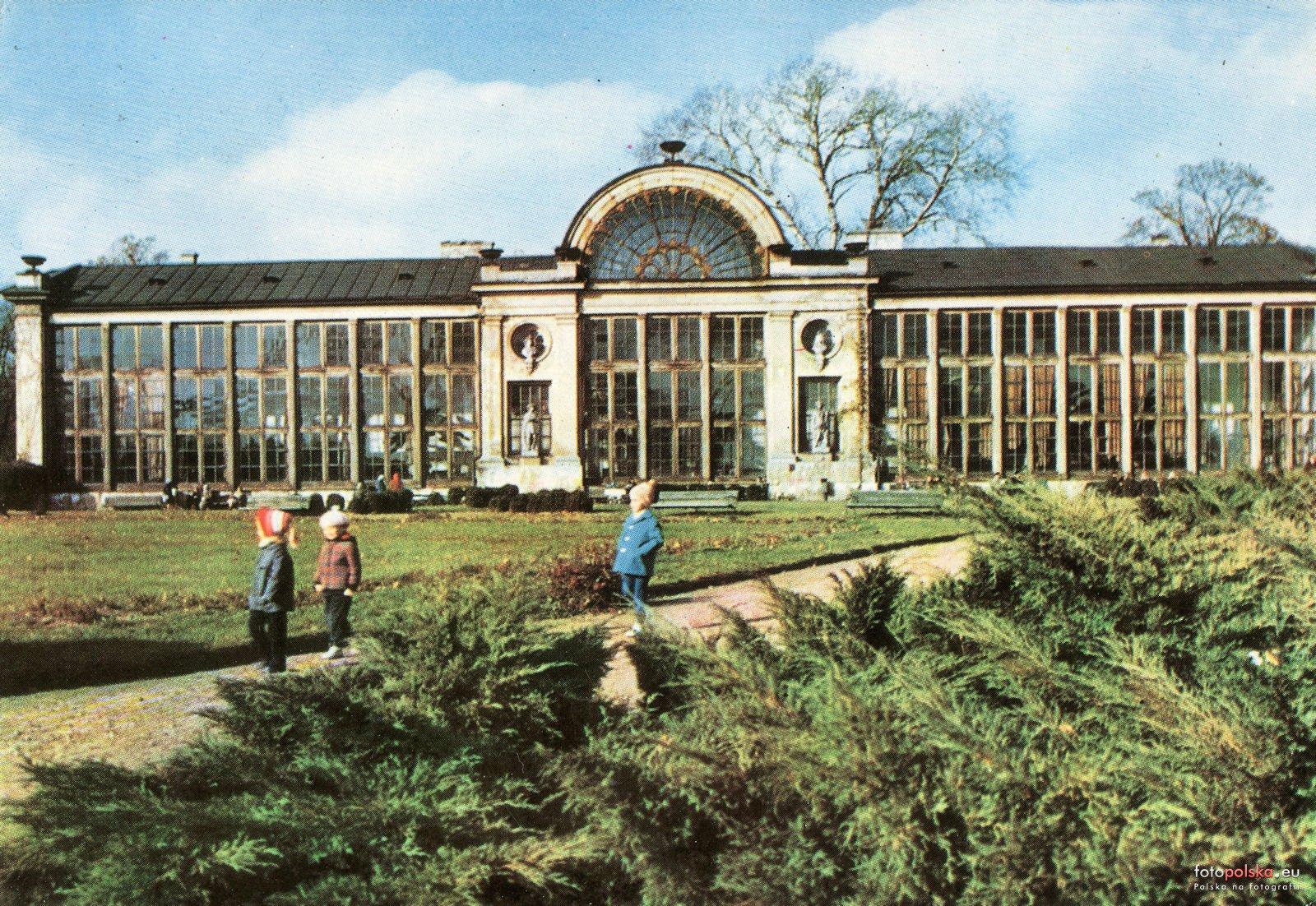 Oranżeria Treibhaus Nowa Pomarańczarnia Warszawa 1967 Rok