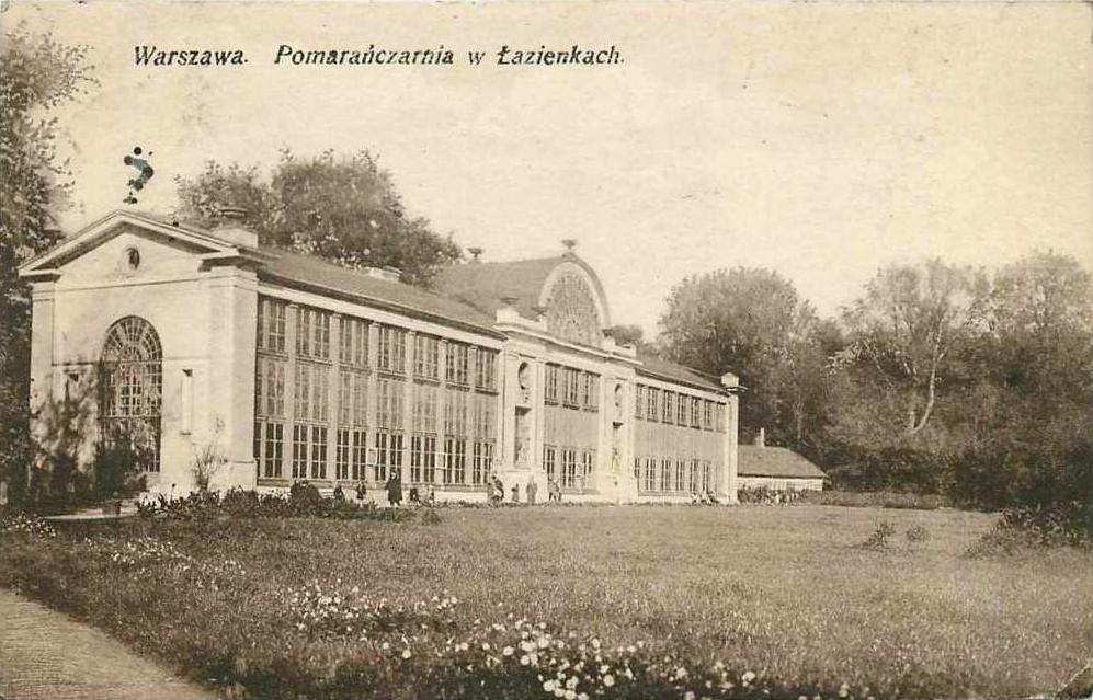 Nowa Oranżeria Treibhaus Nowa Pomarańczarnia Warszawa