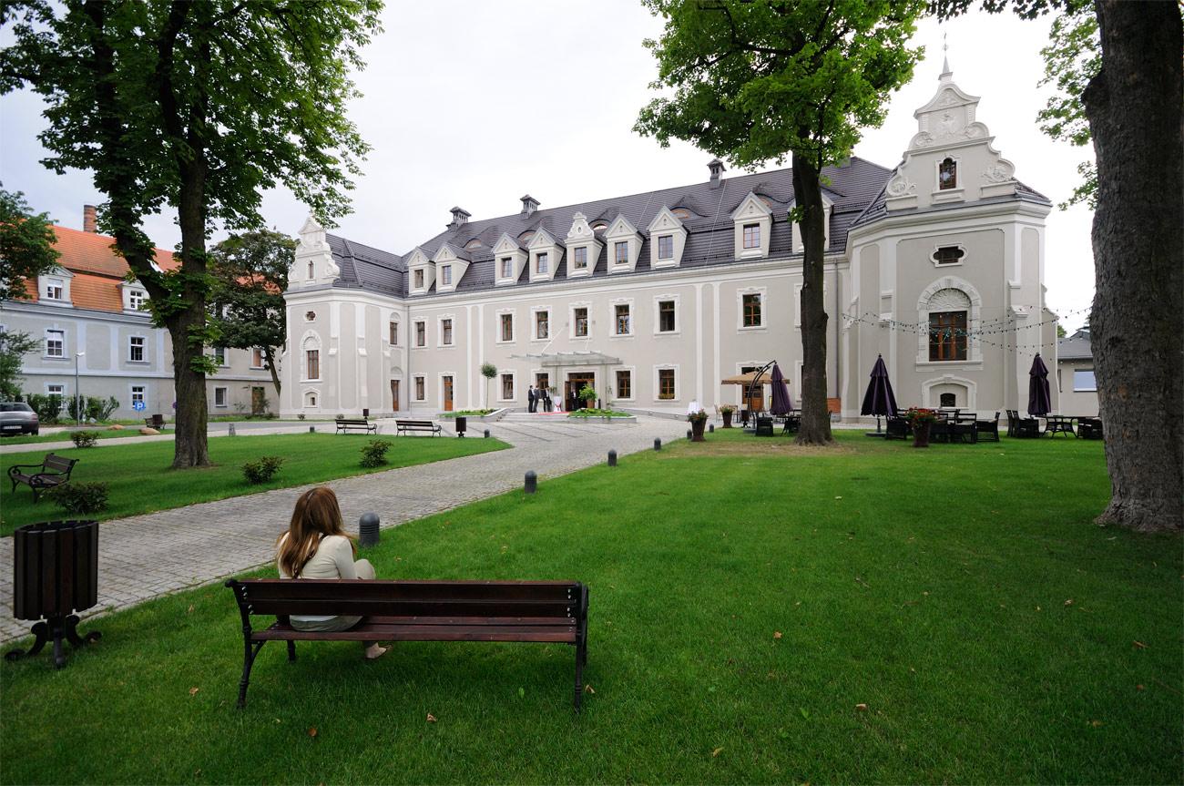 Hotel Zamek Zamek Szpital Psychiatryczny Lubliniec Zdjęcia