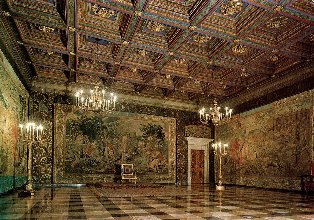 Zamek - Wawel -Komnaty królewskie - Arrasy