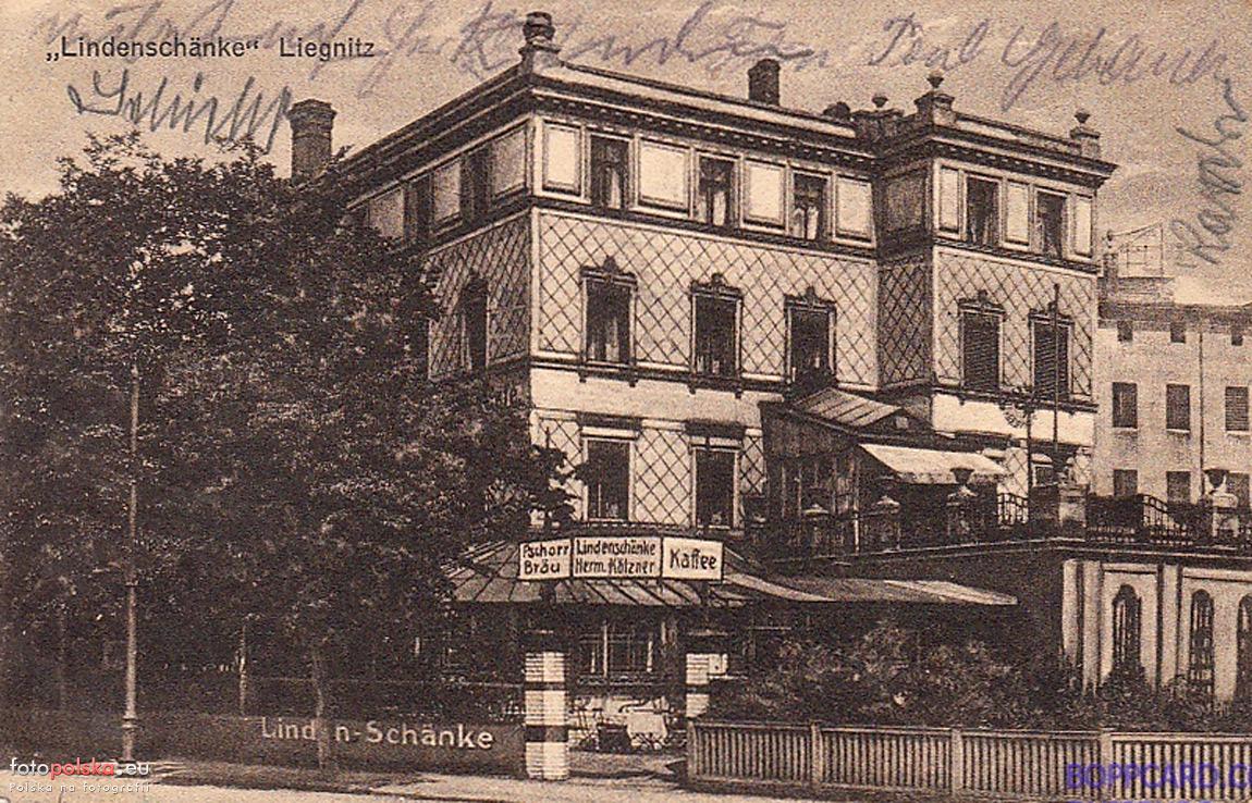 Libana 5 (Lindenschänke), Legnica - 1920 rok, stare zdjęcia