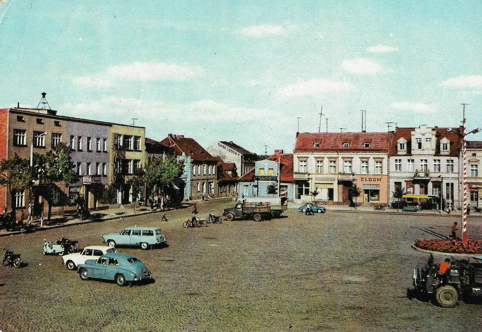 Rynek Oborniki 1977 Rok Stare Zdjęcia