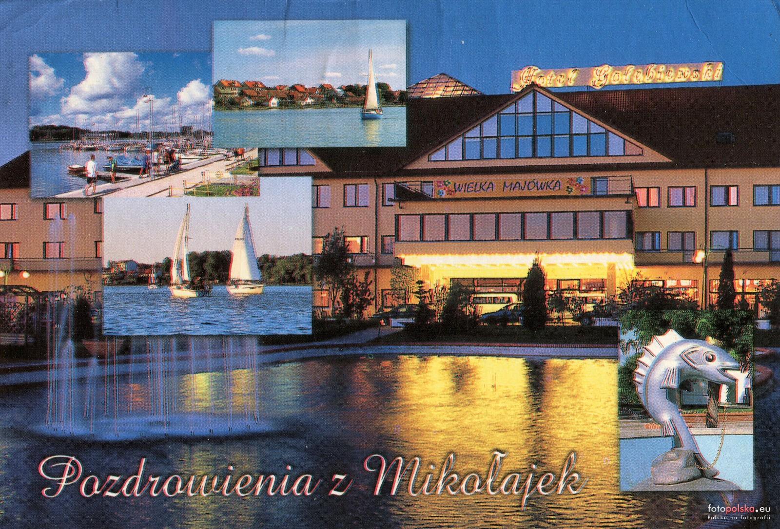 Hotel Gołębiewski Mikołajki Zdjęcia