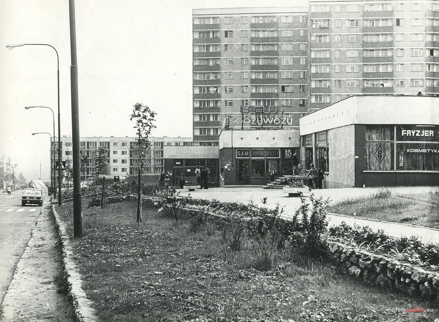 Ul Skalskiego Stanisława Skalskiego Józefa Będzin 1987 Rok