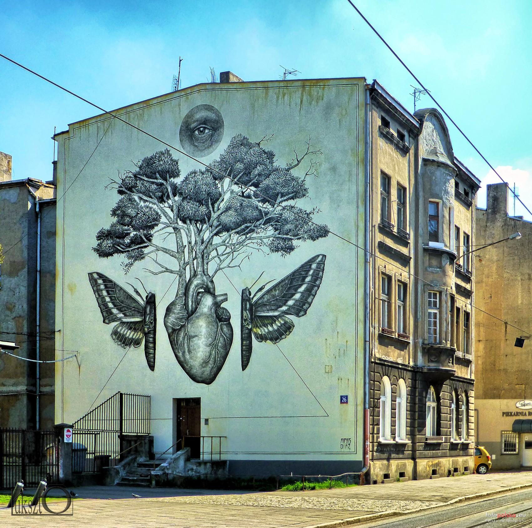 Lodzkie Murale Lodz Zdjecia